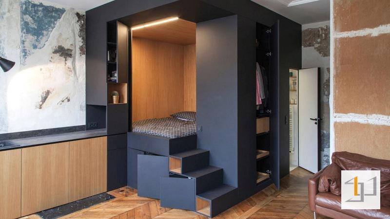 thiết kế nội thất chung cư mini - 02