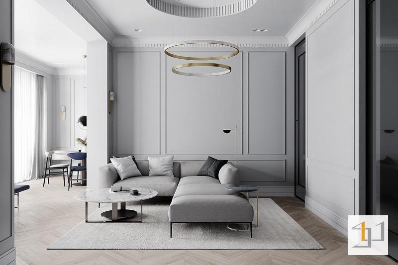 Thiết kế nội thất chung cư cổ điển - 02