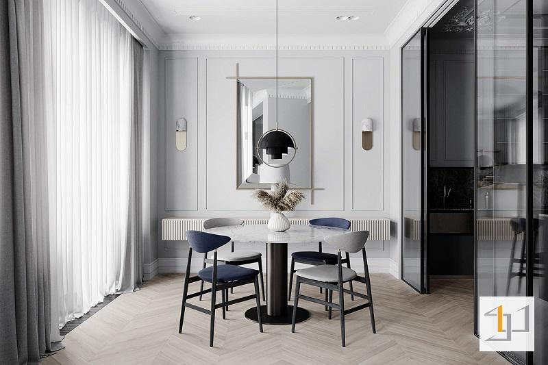 Thiết kế nội thất chung cư cổ điển - 04