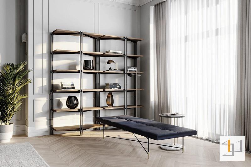 Thiết kế nội thất chung cư cổ điển - 03