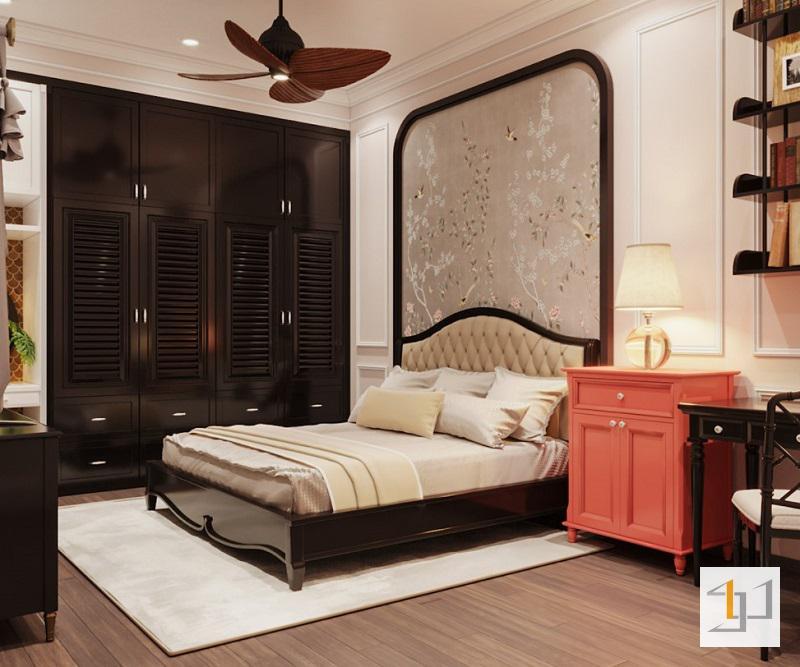Phòng ngủ trang nhã và quý phái