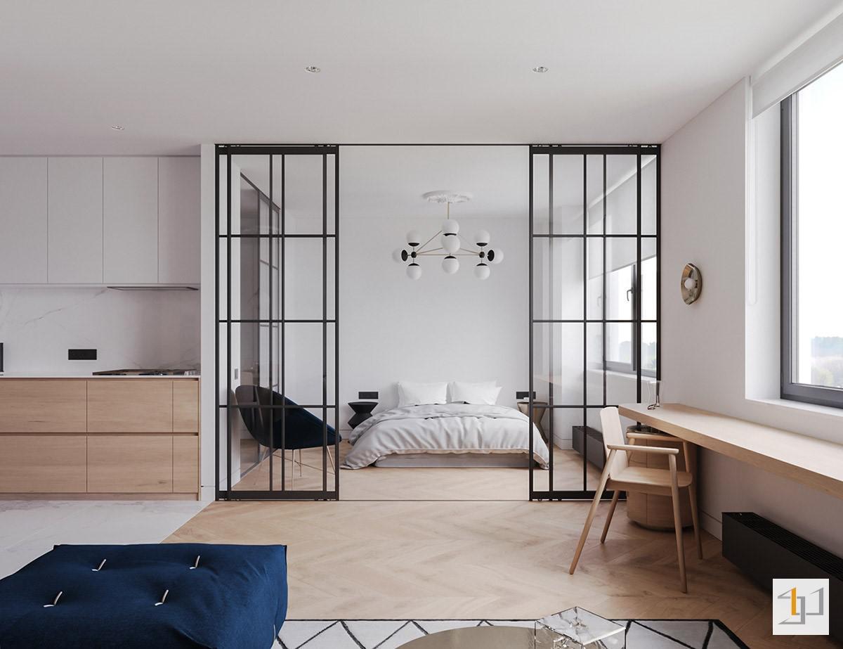 Phòng ngủ đẹp cho nhà chung cư