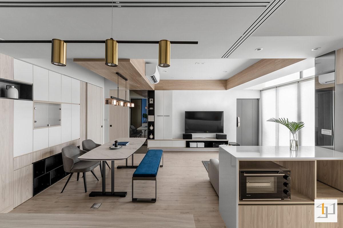 Bố trí nội thất chung cư hiện đại