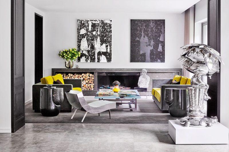 Bố trí màu sắc trong thiết kế nội thất