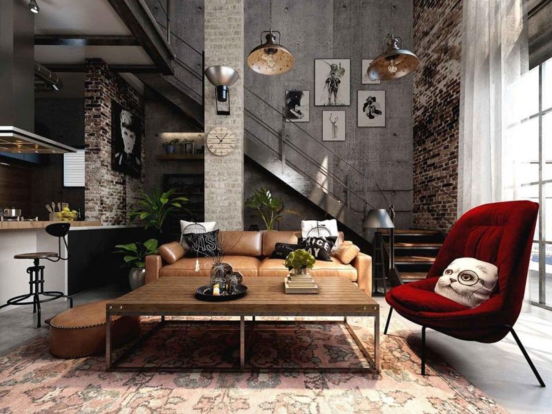 Trang trí nội thất phong cách công nghiệp