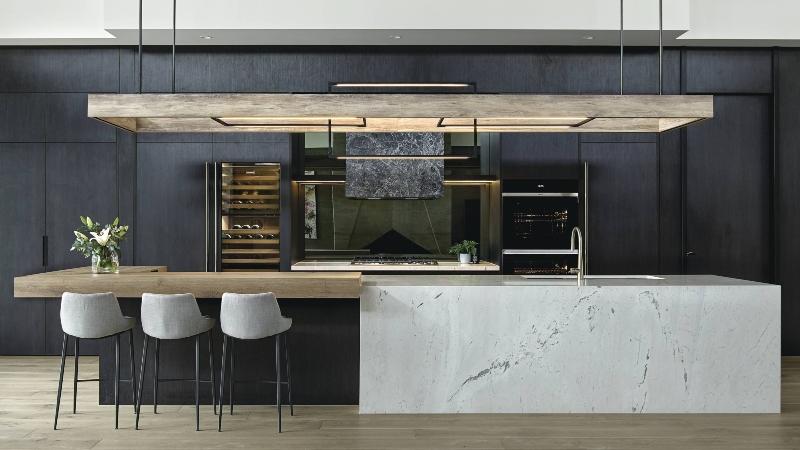 Thiết kế tủ bếp đẹp cho nhà chung cư