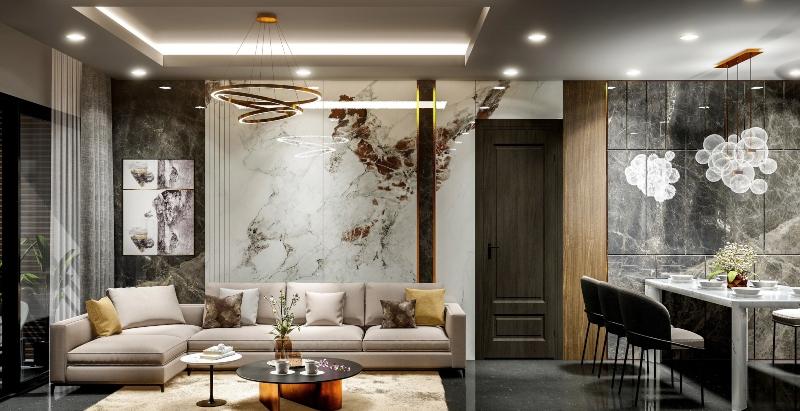 Thiết kế nội thất phong cách hiện đại đẹp