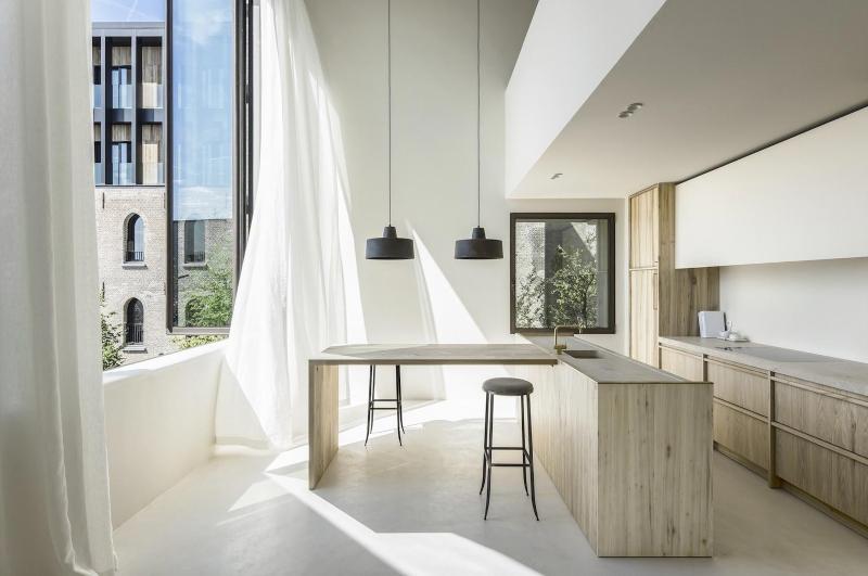 Thiết kế tủ bếp tối giản đẹp