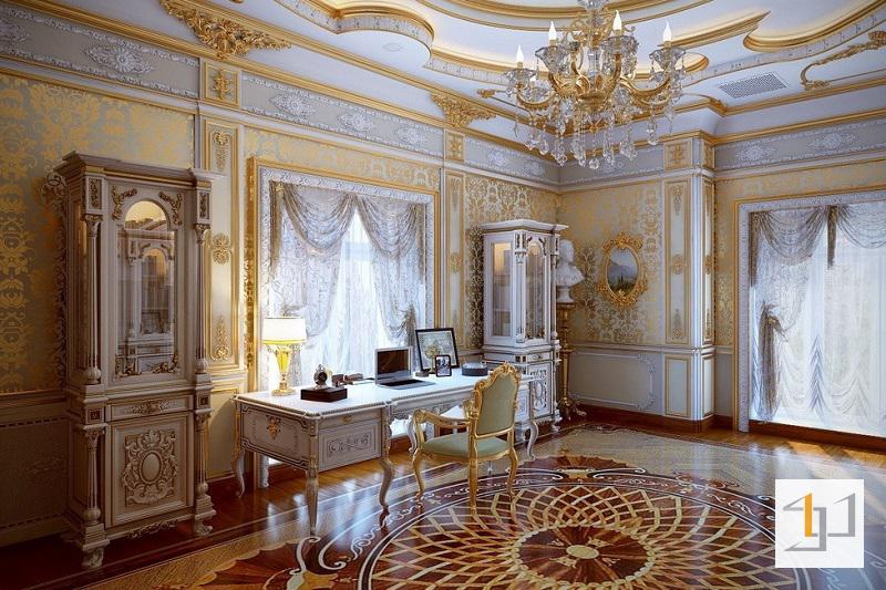 Bố trí nội thất phòng ngủ theo phong cách cổ điển