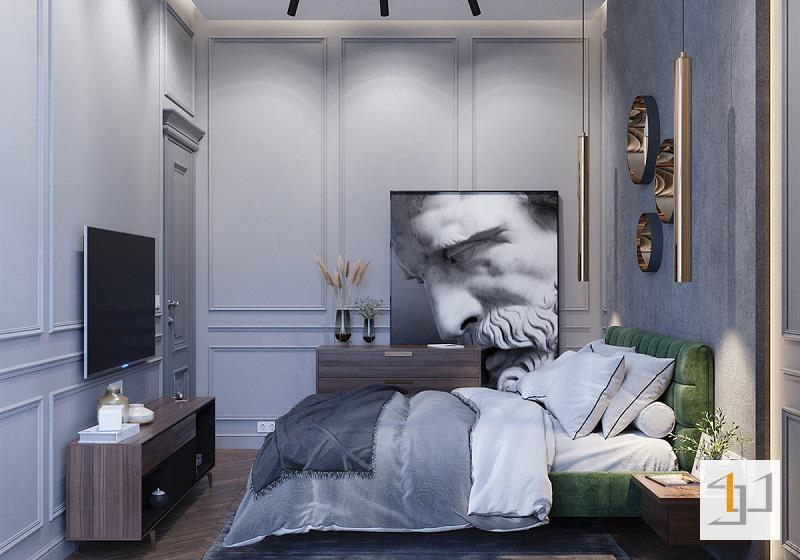 Trang trí nội thất phòng ngủ độc đáo