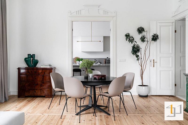 Không gian bếp của ngôi nhà