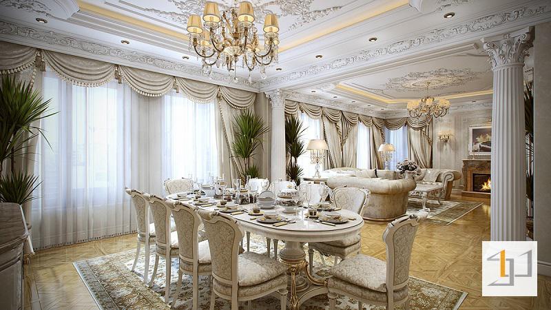 Thiết kế bàn ăn đẹp