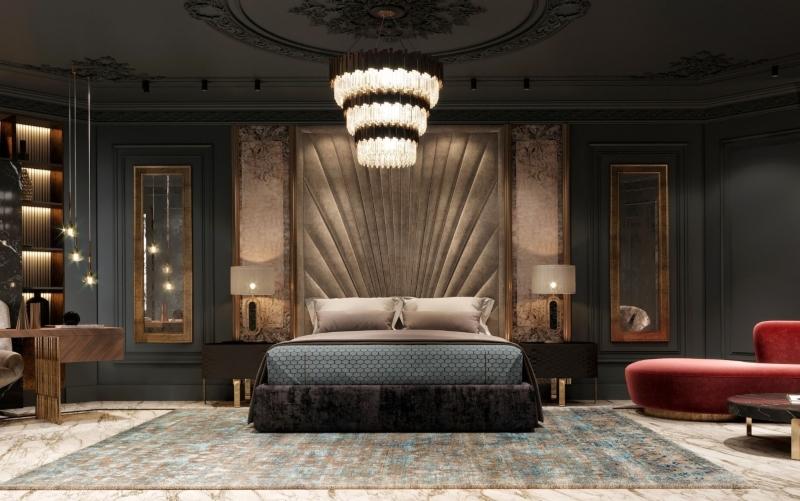 thiết kế nội thất phòng ngủ biệt thự đẹp