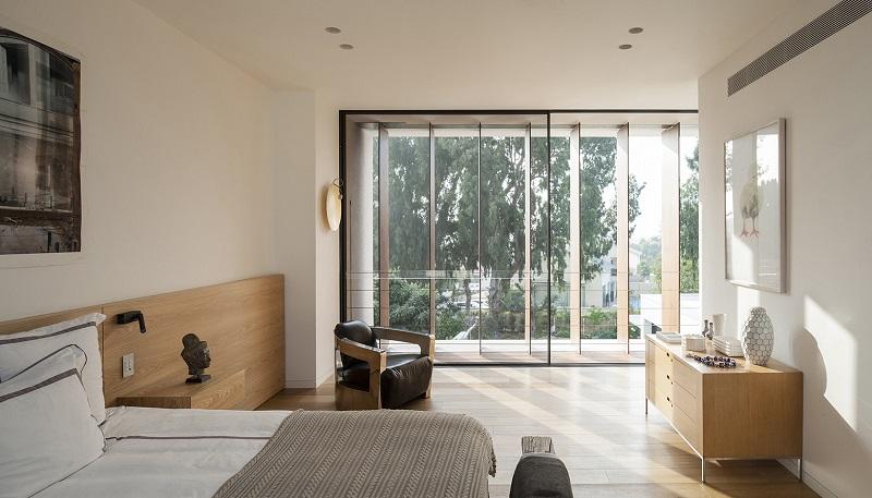 Phòng ngủ Master trong thiết kế nội thất biệt thự liền kề