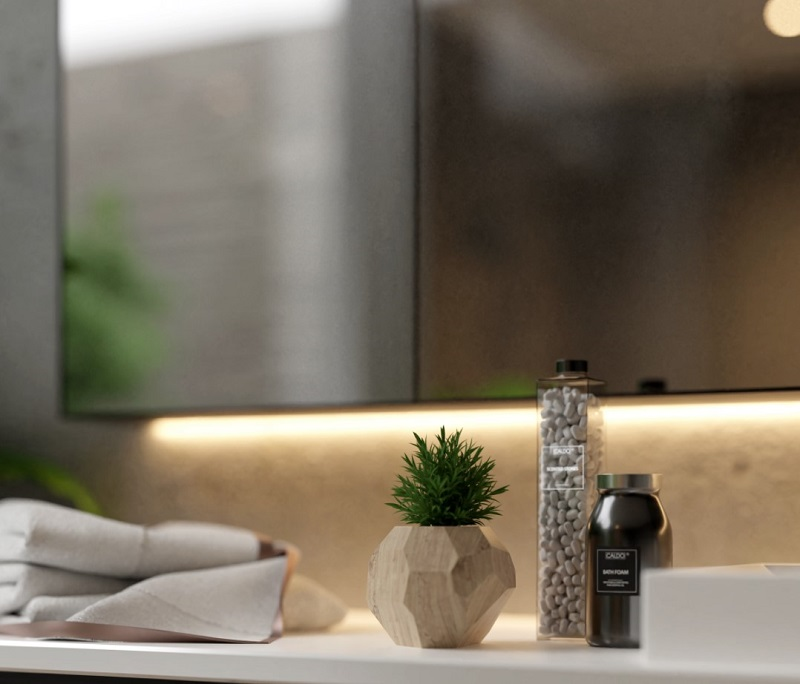Vật dụng trang trí trong tắm đẹp cho biệt thự