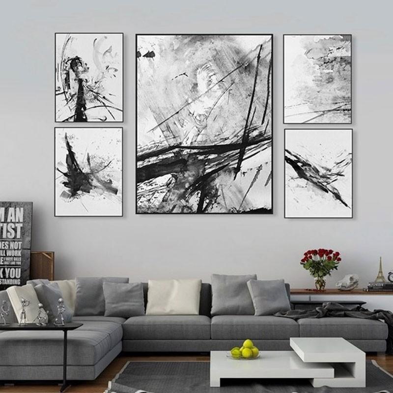 Trang trí tường bằng tranh treo