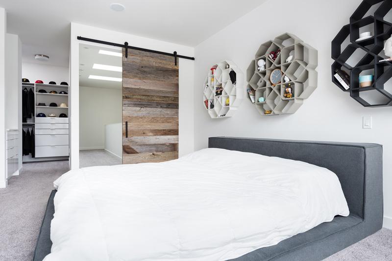 Phòng ngủ Master trong thiết kế nội thất biệt thự song lập