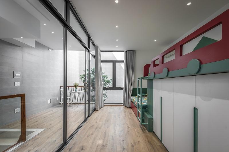 Phòng ngủ trẻ em trong thiết kế nội thất biệt thự liền kề