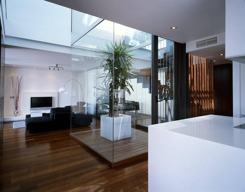 Không gian bên trong thiết kế nội thất biệt thự song lập