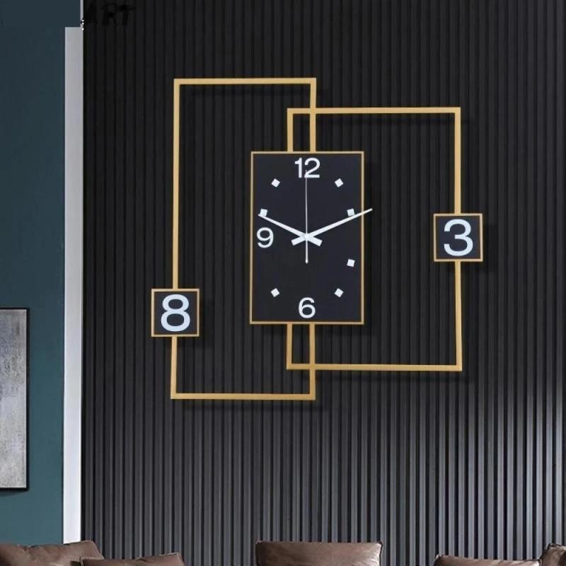 Thiết kế đồng hồ hiện đại cho phòng khách