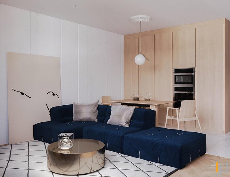 Dark-blue-sofa