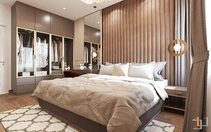 Vách phòng ngủ Master Safira Khang Điền 3PN