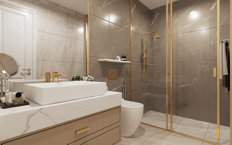 Tủ lavabo phòng Master Safira Khang Điền 3PN