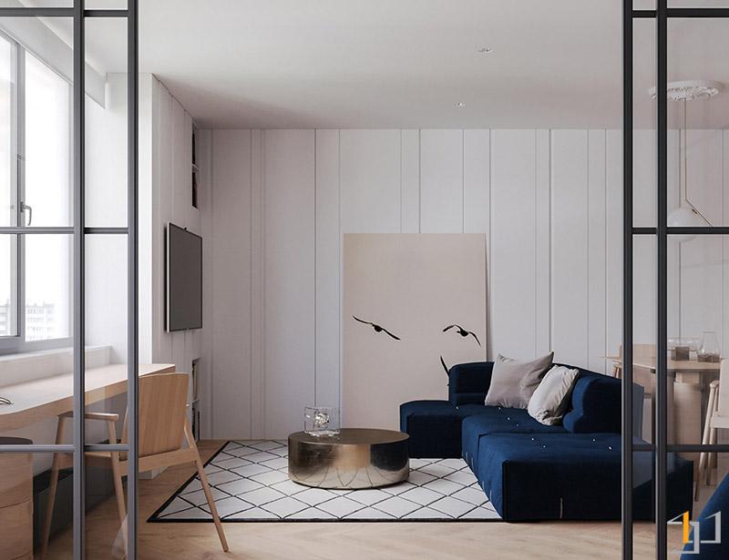Monochrome-rug