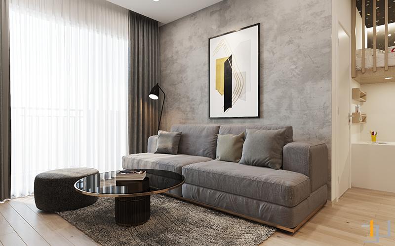Ghế sofa phòng khách Safira Khang Điền 1PN