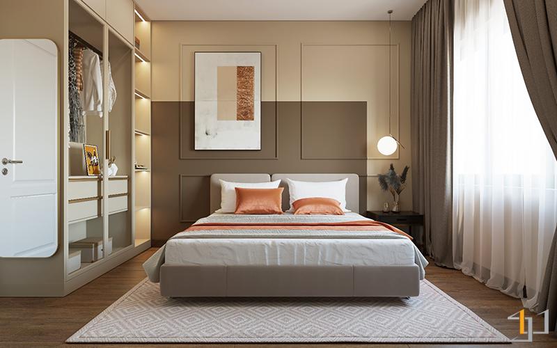 Phòng ngủ nhỏ Safira Khang Điền 3PN