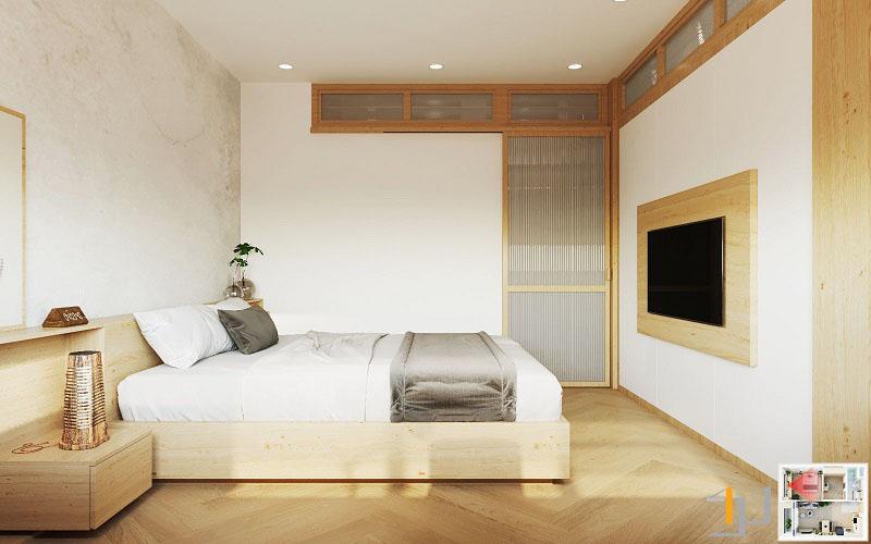 Thiết kế nội thất chung cư Vinhome 1PN 11