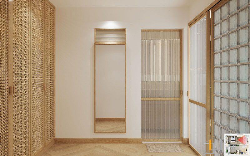 Thiết kế nội thất chung cư Vinhome 1PN 12