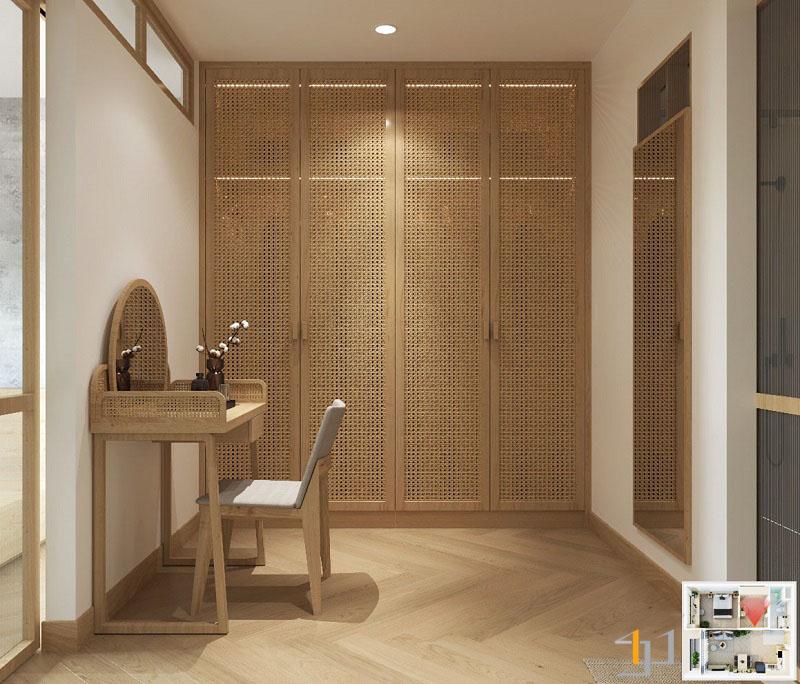 Thiết kế nội thất chung cư Vinhome 1PN 13
