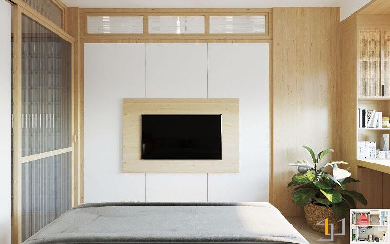 Thiết kế nội thất chung cư Vinhome 1PN 10