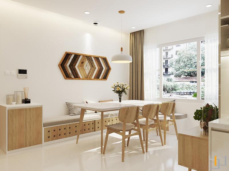 Thiết kế bàn ăn cho căn hộ