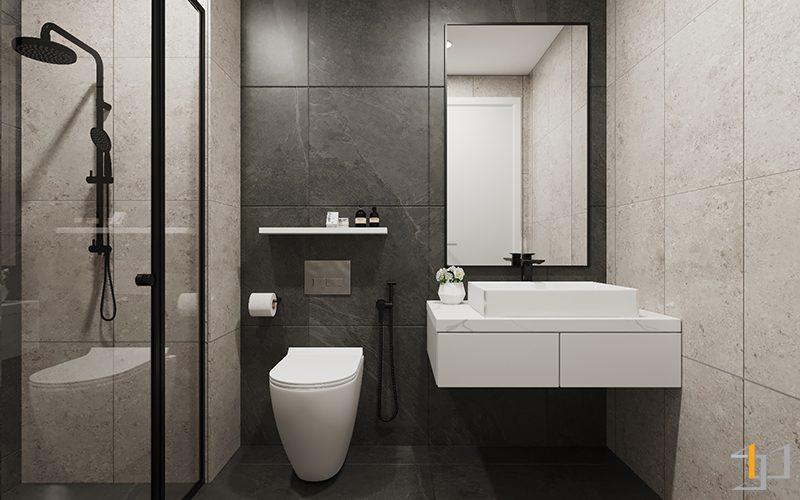 Tủ lavabo căn Safira Khang Điền 1PN
