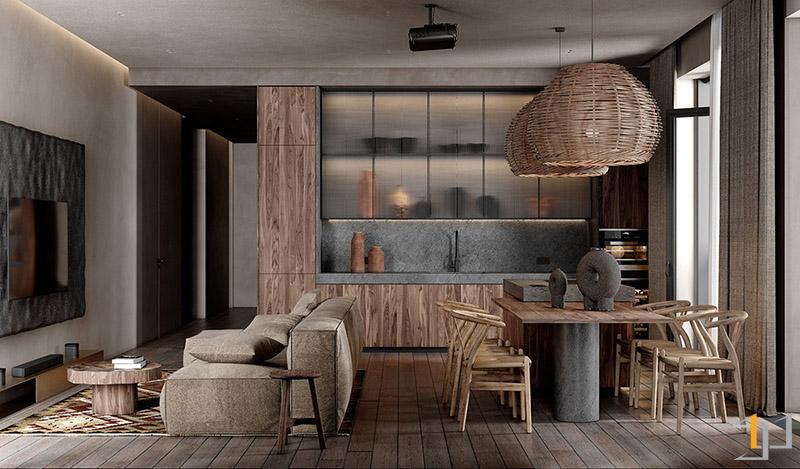boho-lounge-kitchen-diner-combo