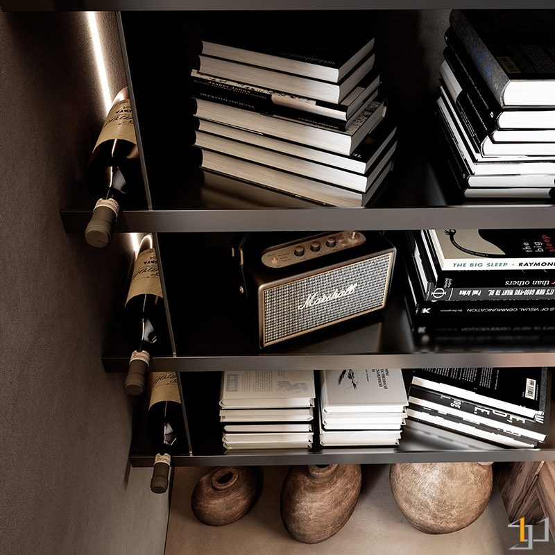 bookshelf-with-wine-storage