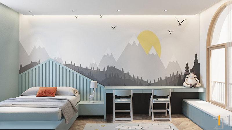 mountain-mural