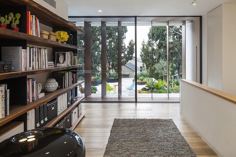Lam gỗ chống nắng trong thiết kế nội thất biệt thự liền kề
