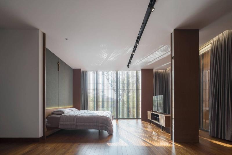 Phòng ngủ Master được bố trí ở vị trí đón nắng