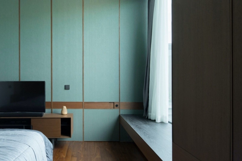 Thiết kế thêm Window Bay tiện lợi cho phòng ngủ phụ