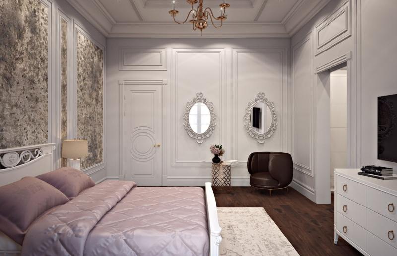 Phòng ngủ tông hồng thiết kế cho con gái