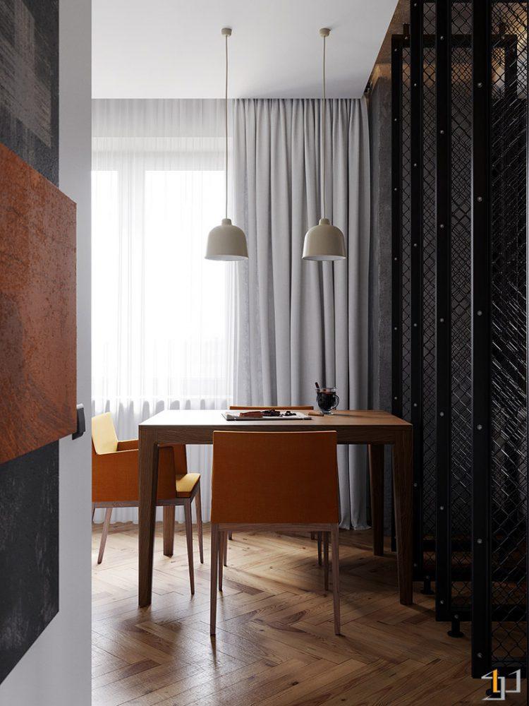 white-dining-room-pendant-lights