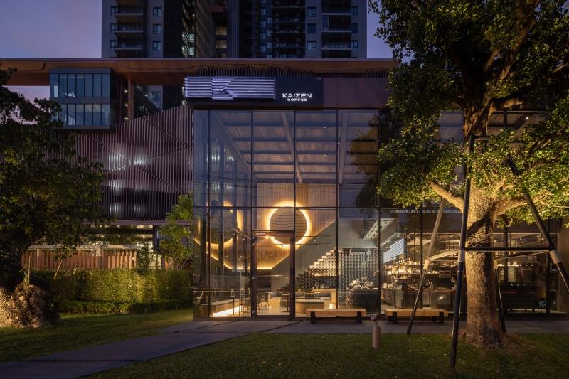 Thiết kế nội thất quán cà phê Thái Lan