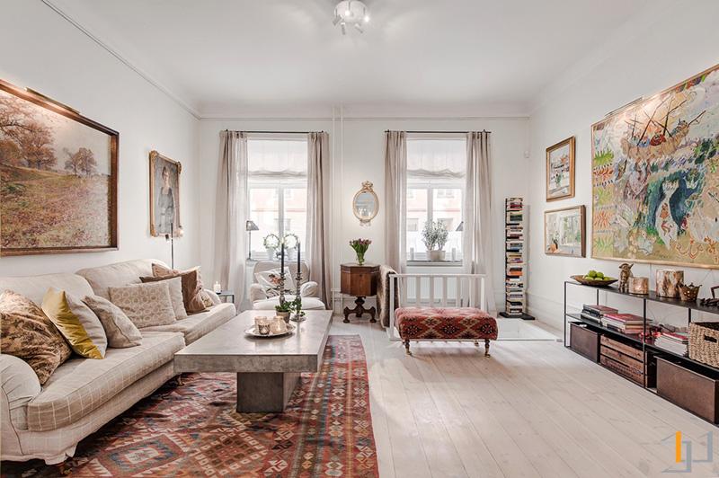 2-Classic-living-room-scheme