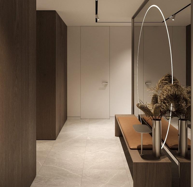 Thiết kế nội thất giá rẻ gương soi toàn thân