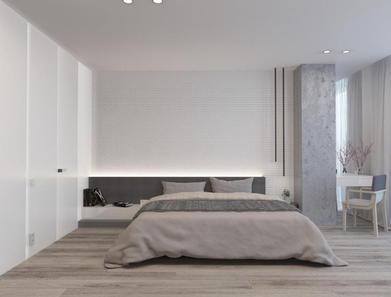 Phòng ngủ gọn gàng và đầy đủ công năng