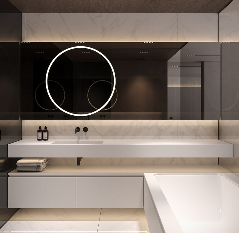 Thiết kế nội thất giá rẻ phòng tắm Contemporary