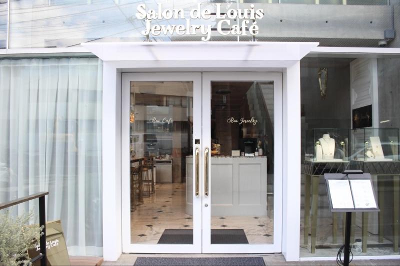 Thiết kế nội thất quán cà phê Salon de Louis Jewelry Café